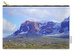 Desert Winter Carry-all Pouch