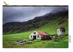 Deserted Barn In Iceland Carry-all Pouch