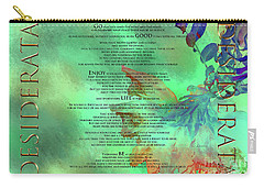 Desiderata #2 Carry-all Pouch