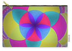Carry-all Pouch featuring the painting Design Number Three by Denise Fulmer
