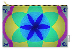Carry-all Pouch featuring the painting Design Number Two by Denise Fulmer