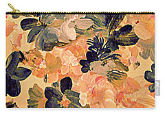 Designing Flowers Carry-all Pouch