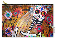 Carry-all Pouch featuring the painting Desposada by Pristine Cartera Turkus