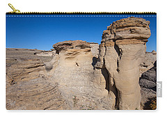 Carry-all Pouch featuring the photograph Destination Hoodoos by Fran Riley