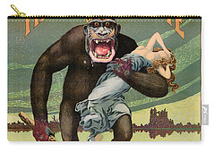 Destroy This Mad Brute - Restored Vintage Poster Carry-all Pouch