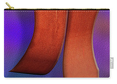 Carry-all Pouch featuring the photograph Detached by Paul Wear