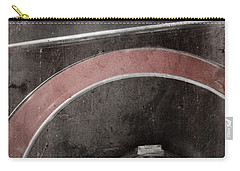 Carry-all Pouch featuring the photograph Detail Of A Vintage Car. by Andrey  Godyaykin