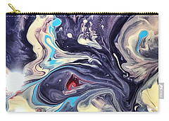 Detail Of Fluid Painting 1 Carry-all Pouch