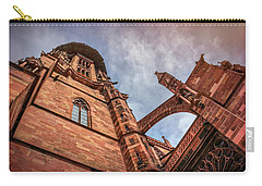Detail Of Freiburg Cathedral Germany  Carry-all Pouch