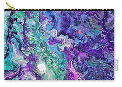 Detail Of Waves Carry-all Pouch