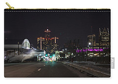 Carry-all Pouch featuring the photograph Detroit Michigan by Nicholas Grunas
