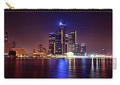 Detroit Skyline 4 Carry-all Pouch by Gordon Dean II