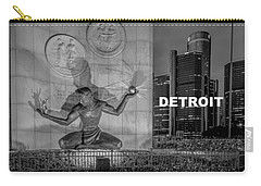 Detroit Type Feeling Carry-all Pouch