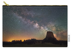 Carry-all Pouch featuring the photograph Devils Night Watch by Darren White