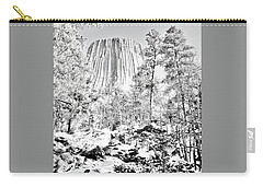 Devils Tower Wyoming Carry-all Pouch