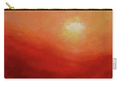 Carry-all Pouch featuring the painting Devotion by Valerie Anne Kelly