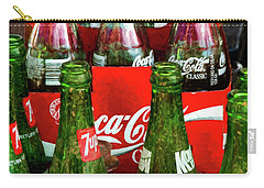 Carry-all Pouch featuring the photograph Dew 7-up N Coke by Trey Foerster
