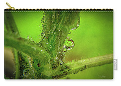 Dew Drop Closeup Carry-all Pouch