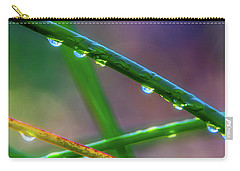 Dew Drops At Sunrise Carry-all Pouch