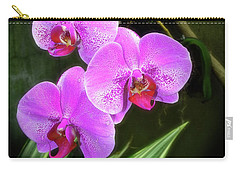 Dew-kissed Moth Orchids Carry-all Pouch