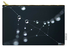 Dewdrop On Cobweb 002 Carry-all Pouch