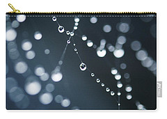 Dewdrops On Cobweb 003 Carry-all Pouch