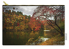 Dewey Lake In Autumn Carry-all Pouch by Lena Auxier