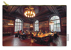 Carry-all Pouch featuring the photograph Dewitt Wallace Periodical Room by Jessica Jenney