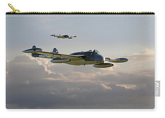 Carry-all Pouch featuring the photograph  Dh112 - Venom by Pat Speirs