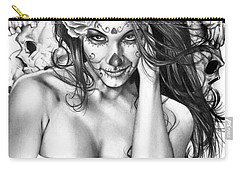 Dia De Los Muertos 2 Carry-all Pouch by Pete Tapang