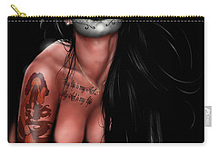 Dia De Los Muertos 4 Carry-all Pouch by Pete Tapang
