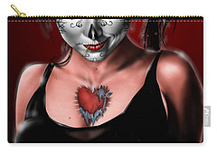 Dia De Los Muertos The Vapors Carry-all Pouch by Pete Tapang