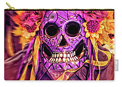 Dia De Muertos Mask Carry-all Pouch