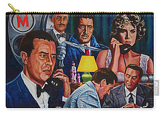 Dial M For Murder Carry-all Pouch by Michael Frank