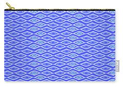 Diamond Eyes Cobalt Carry-all Pouch