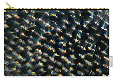 Carry-all Pouch featuring the photograph Diamond Lights by Greg Collins