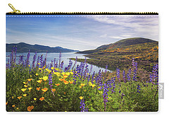 Carry-all Pouch featuring the photograph Diamond Valley by Tassanee Angiolillo