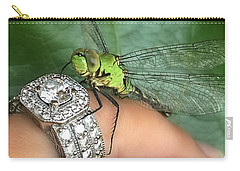 Diamonds Are A Dragonflies Best Friend Carry-all Pouch