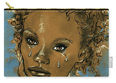 Diamond's Daughter Carry-all Pouch by P J Lewis