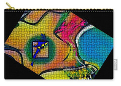 Try...all  And Error Carry-all Pouch by Kathie Chicoine