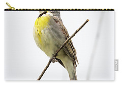 Carry-all Pouch featuring the photograph Dickcissel  by Ricky L Jones