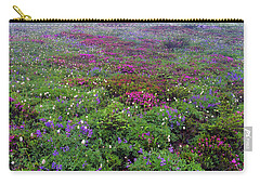 Dickerman Floral Meadow Carry-all Pouch