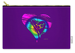 Different Loving 3 Carry-all Pouch