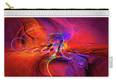 Digital Abstract Art Collection Carry-all Pouch
