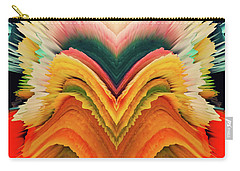 Carry-all Pouch featuring the photograph Vivid Eruption by Colleen Taylor