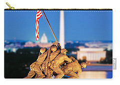 Digital Composite, Iwo Jima Memorial Carry-all Pouch