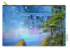 Digital Dream Carry-all Pouch
