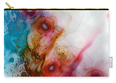 Carry-all Pouch featuring the digital art Digital Dreaming by Linda Sannuti