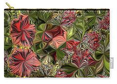 Digital Garden V Carry-all Pouch by Leo Symon
