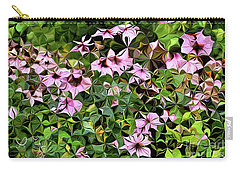 Digital Garden Vii Carry-all Pouch by Leo Symon